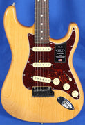 Fender American Ultra Stratocaster Strat Natural Ash Electric Guitar w/ OHSC