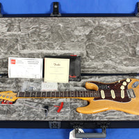 Fender American Ultra Stratocaster Strat Natural Ash Electric Guitar