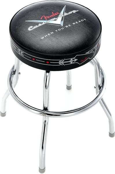 Fender Custom Shop Pinstripe Barstool 30""
