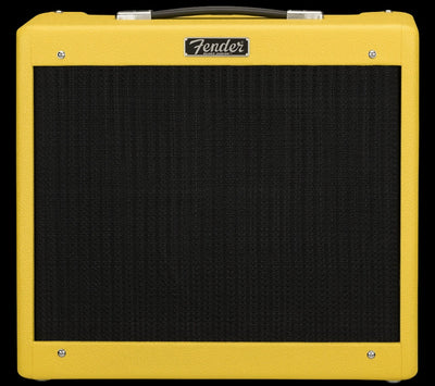 Fender Blues Junior IV Swamp Thang Graffiti Yellow Tube Guitar Amplifier Amp