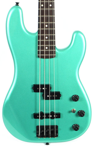 Fender Japan Boxer Precision PJ Sherwood Green Electric Bass Guitar