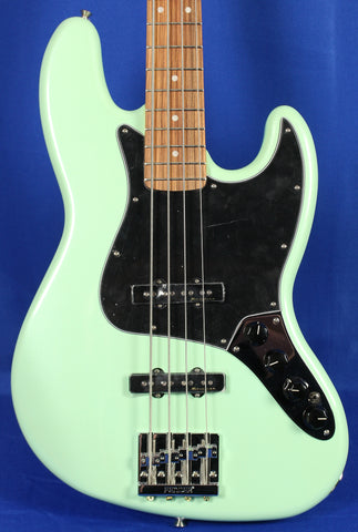 Fender Deluxe Active Jazz Bass Surf Pearl Electric Bass Guitar