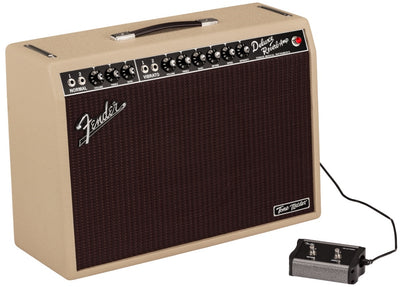 Fender Tone Master Deluxe Reverb Blonde Electric Guitar Amplifier Amp