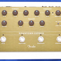 Fender Downtown Express Electric Bass Guitar Multi-Effect Effects Pedal