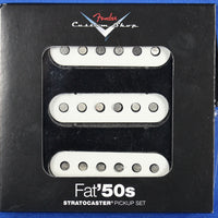 Fender USA Fat 50s Pickup Set White Stratocaster Strat Electric Guitar Pickups