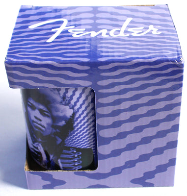 Fender Guitars Jimi Hendrix Kiss The Sky 15oz Purple Ceramic Mug