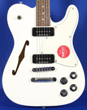 Fender Jim Adkins JA-90 White Thinline Telecaster Tele Electric Guitar
