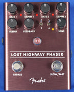 Fender Lost Highway Phaser Electric Guitar Effect Effects Pedal