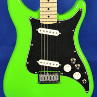 Fender Player Series Lead II Neon Green Hard Tail Electric Guitar