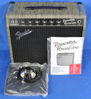 Fender USA 65 Princeton Reverb Chilewich Guitar Amplifier Amp Limited Edition