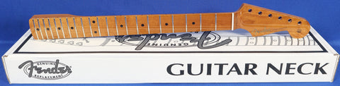 Fender Roasted Maple Vintera Stratocaster Strat Genuine Replacement Guitar Neck