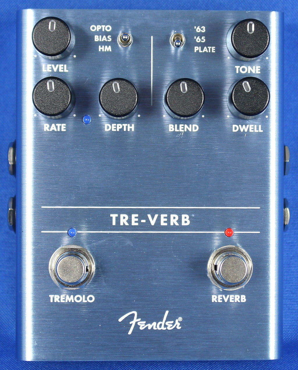 Fender Tre-Verb Tremolo Reverb Electric Guitar Effect Effects Pedal