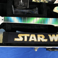 Fernandes Retrorocket Star Wars Yoda #47/65 Electric Guitar w/ COA Strap & Knobs