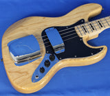 Vintage Icon Series VJ74 Natural Electric Bass Guitar Wilkinson