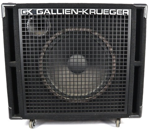Gallien-Krueger GK 115-RBH 400w Electric Bass Guitar Amplifier Speaker Cabinet Cab Used