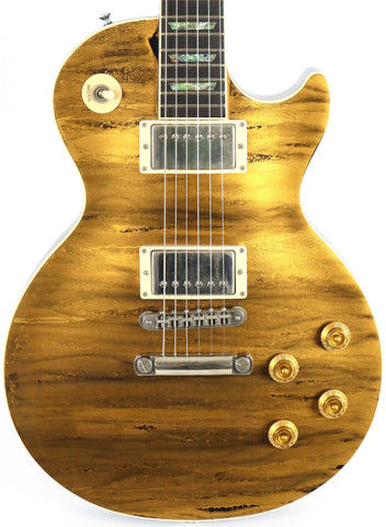 Gibson Les Paul Custom Shop Elegant Gold Flow Electric Guitar