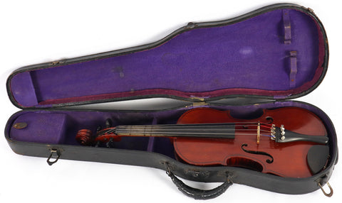 Vintage 1940s Gibson Violinmakers V15 3/4 Violin w/ Lifton Case *Highly Figured*