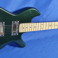 Gimenez Saint 624B Chrysler Green Electric Guitar EMG Schaller