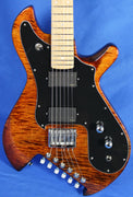 Gimenez Saint 624B Flamed Maple Electric Guitar EMG Schaller