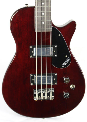 Gretsch G2220 Electromatic Junior Jet Walnut Electric Bass Guitar