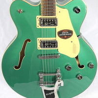 Gretsch G5622T Electromatic Anniversary Georgia Green Hollow Body Electric Guitar Bigsby