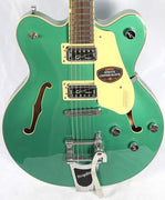 Gretsch G5622T Electromatic Hollow Body Electric Guitar Bigsby Georgia Green