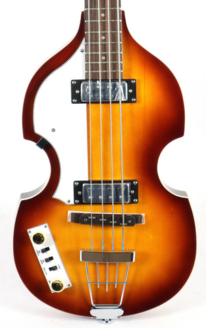 Hofner B-Bass HI Ignition Sunburst Beatle Viola Violin Lefty Bass Guitar