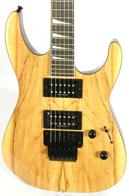 Jackson SLX Soloist Spalted Maple Floyd Rose Natural