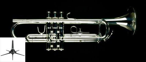 Jupiter JTR-700S Intermediate Bb Trumpet w/ Case - Silver Plated
