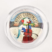 Magic Rosin Merry Christmas Snowman Cellist Violin Viola Rosin