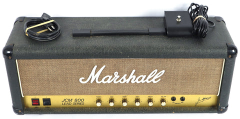 1986 Marshall England JCM800 50w 2204 Electric Guitar Tube Amplifier Amp Head
