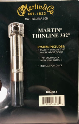 Martin Thinline 332 18A0056 Acoustic Guitar Pickup System