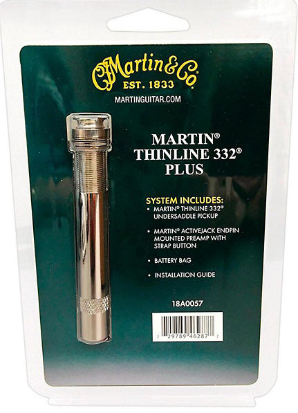 Martin Thinline 332 Plus 18A0057 Active Acoustic Guitar Pickup System