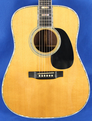 Martin USA D45 Tex Fletcher Custom Dreadnought Acoustic Electric Guitar w/OHSC