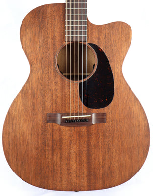 Martin OMC-15ME Natural Satin Mahogany Acoustic Electric Guitar