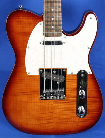 Michael Kelly 1953 Tele Caramel Burst Electric Guitar MK53SCBERO