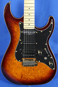 Michael Kelly CC60 Korina SuperStrat Burl Burst Electric Guitar MK60CBBMRH