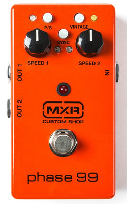 MXR Custom Shop CSP099 Phase 99 Dual Phase 90 Electric Guitar Effect Pedal