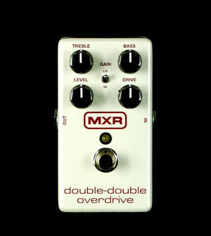 MXR M250 Double-Double Overdrive Guitar Effects Pedal