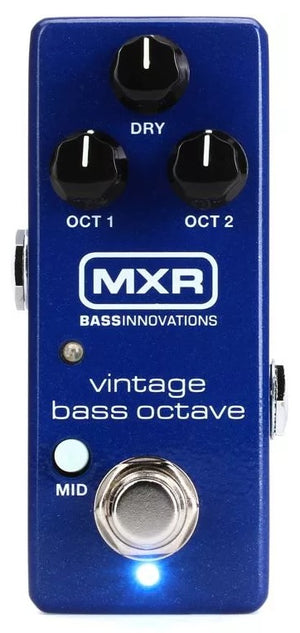 MXR M280 Vintage Bass Octave Electric Bass Guitar Effect Effects Pedal