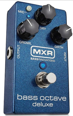 MXR M288 Bass Octave Deluxe Electric Bass Guitar Effect Effects Pedal