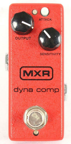 MXR M291 Dyna Comp Mini Compressor Electric Guitar Effect Effects Pedal