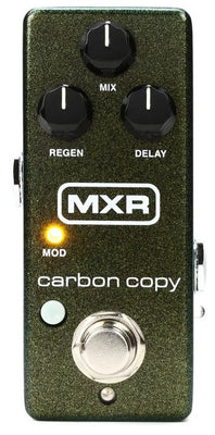 MXR M299 Carbon Copy Mini Analog Delay Electric Guitar Effect Effects Pedal