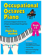Occupational Octaves Piano Book Special Needs Music Instruction Lessons Method Books 1
