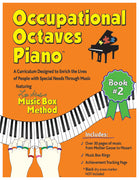 Occupational Octaves Piano Book Special Needs Music Instruction Lessons Method Books 2