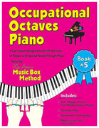 Occupational Octaves Piano Book Special Needs Music Instruction Lessons Method Books 5