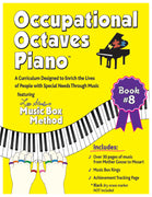Occupational Octaves Piano Book Special Needs Music Instruction Lessons Method Books 8