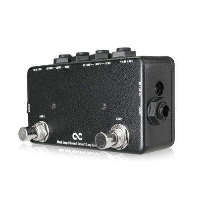 One Control Black Loop Guitar Effect Pedal