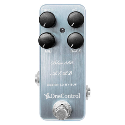 One Control Blue 360 AIAB Bass Preamp Effect Pedal