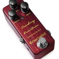 One Control Cranberry Overdrive Electric Guitar Effect Pedal BJF Series